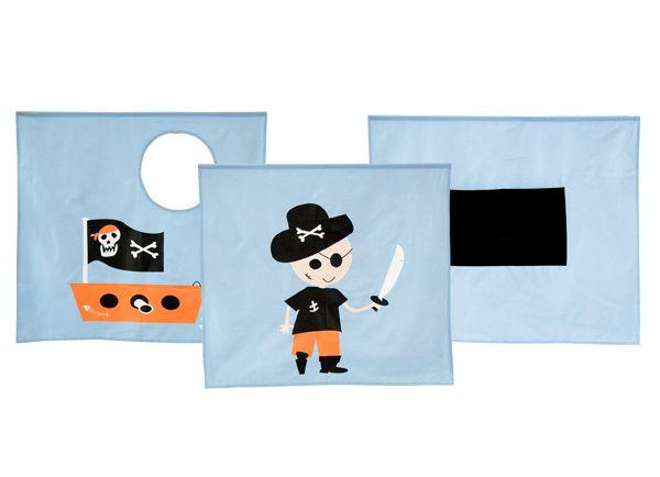 Tentdoek Piraat - Kidsgigant.nl