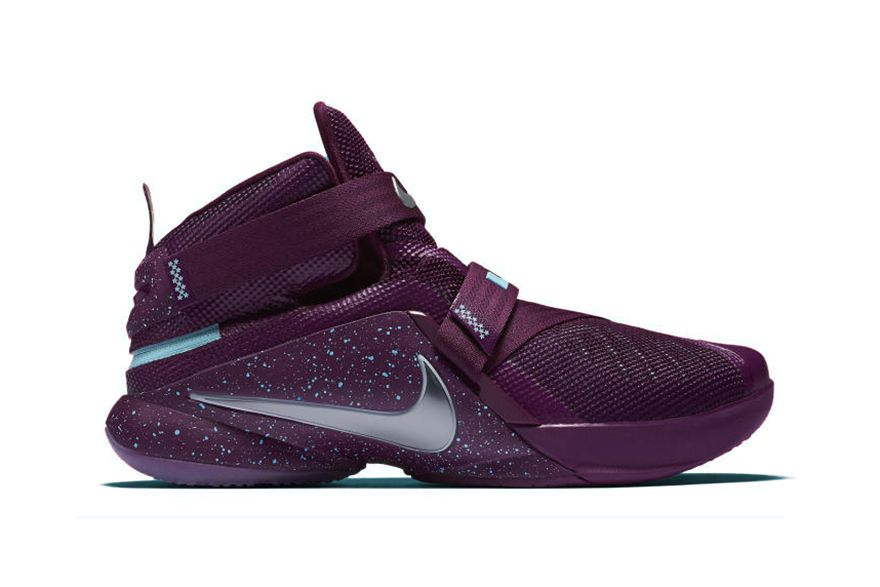 best sneakers d1039 58d9d Nike LeBron Soldier 9 Flyease Set to Release in Purple and Navy Colorways