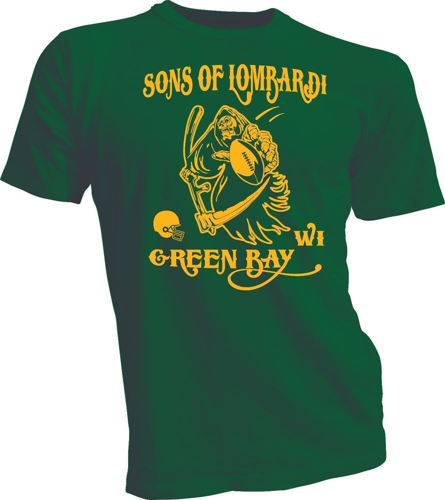 Green Bay Packer T-shirts : Sons of Lombardi T-shirt Shirt : The T ...