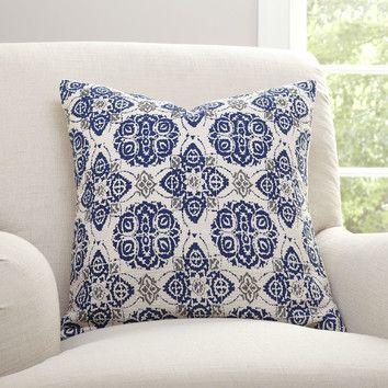 Miraculous The Antonella Pillow Cover At Birch Lane Mediterranean Inzonedesignstudio Interior Chair Design Inzonedesignstudiocom
