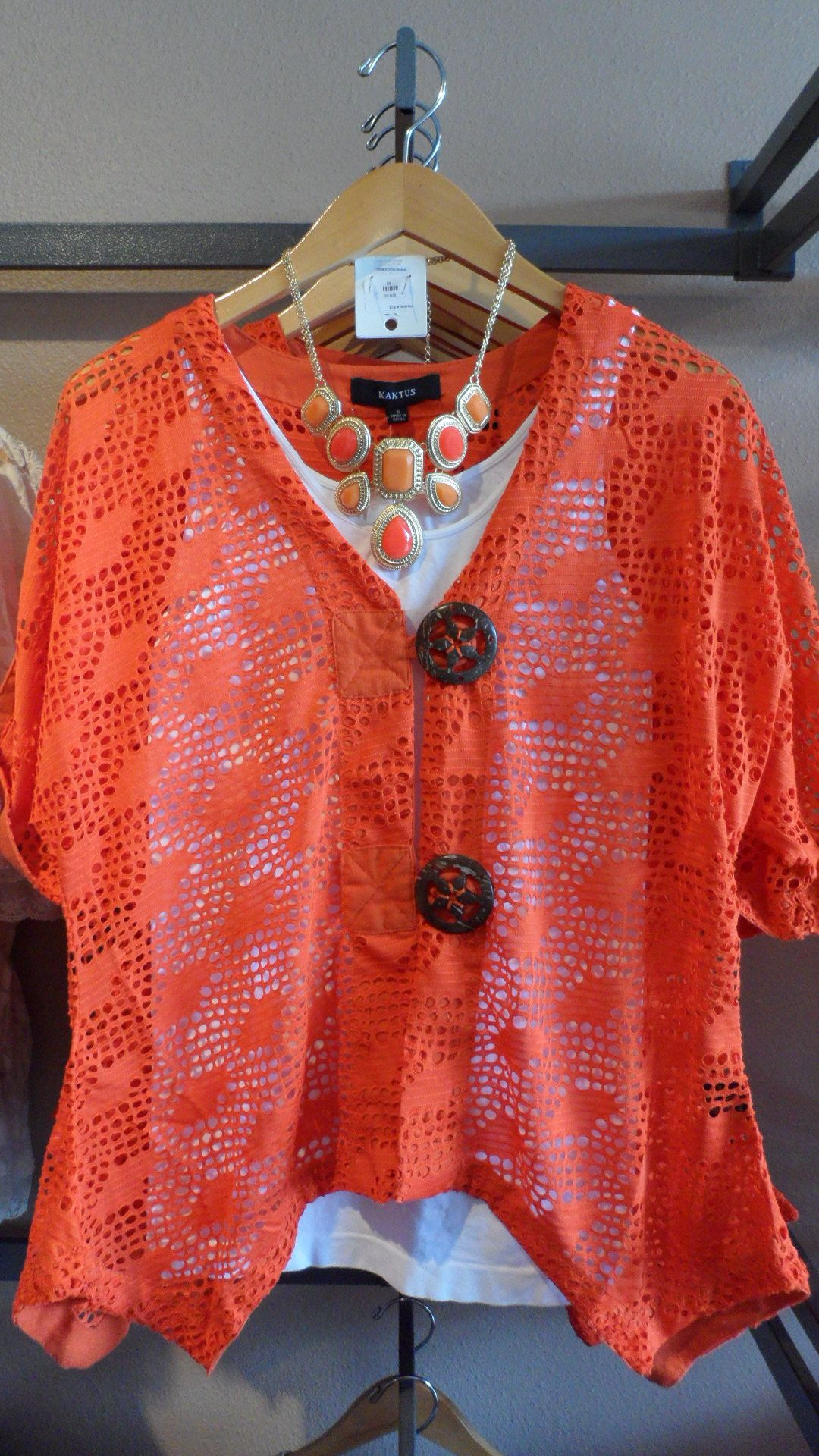 FABULOUS color and style! Missy top...sizes: S-XL