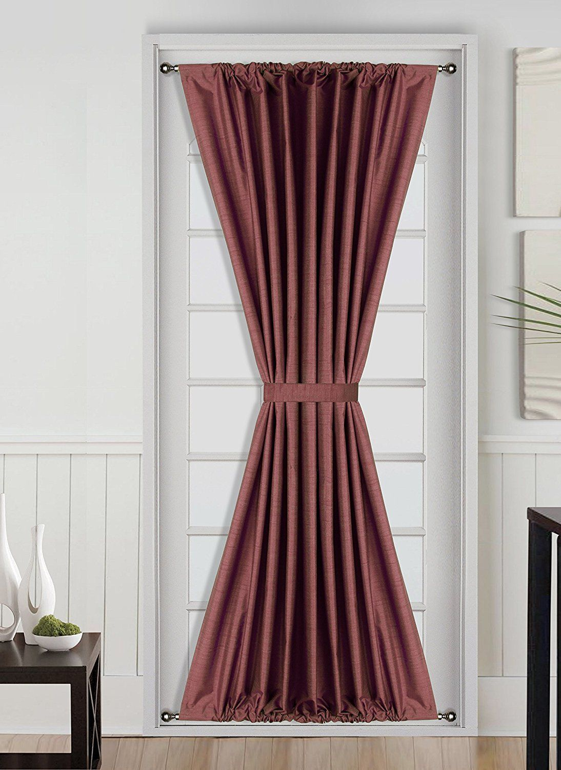 Linens And More Daysi French Door Insulated Blackout Rod Pocket