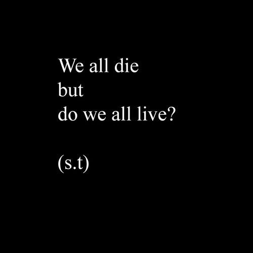 do we all live