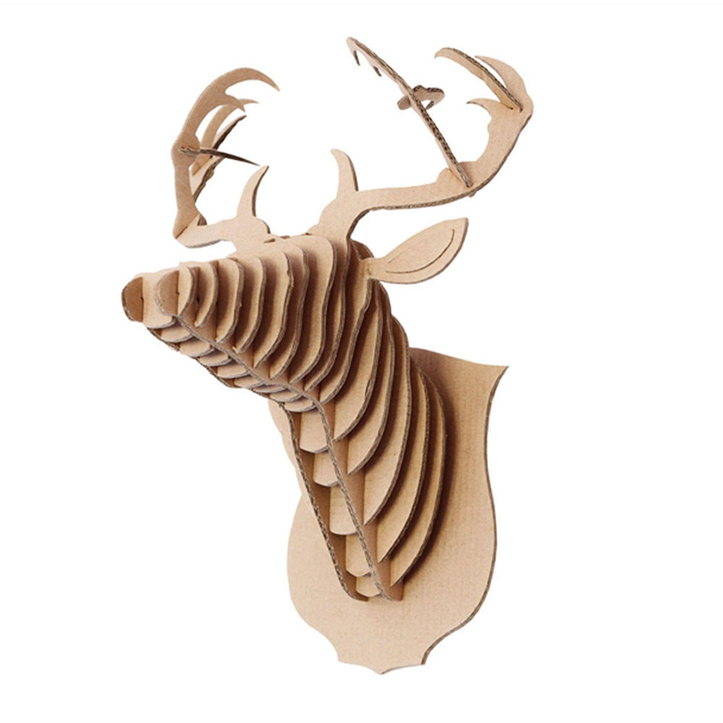 Pour moi dans l'entrée  Helio Ferretti - Tête de cerf décorative | ACHICA