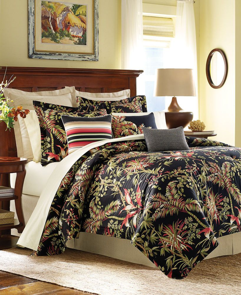 Tommy Bahama Jungle Drive Multi Floral California King 4 Pc
