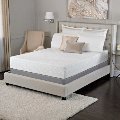 Trump Select By Serta Arturo 10 Premium Gel Memory Foam Mattresses And Sets Various Sizes Mattress Memory Foam Mattress Foam Mattress