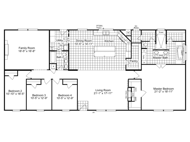 Pin By Kaley Anderson On Previous Show Research And Inspiration Manufactured Homes Floor Plans Modular Home Floor Plans Modular Floor Plans