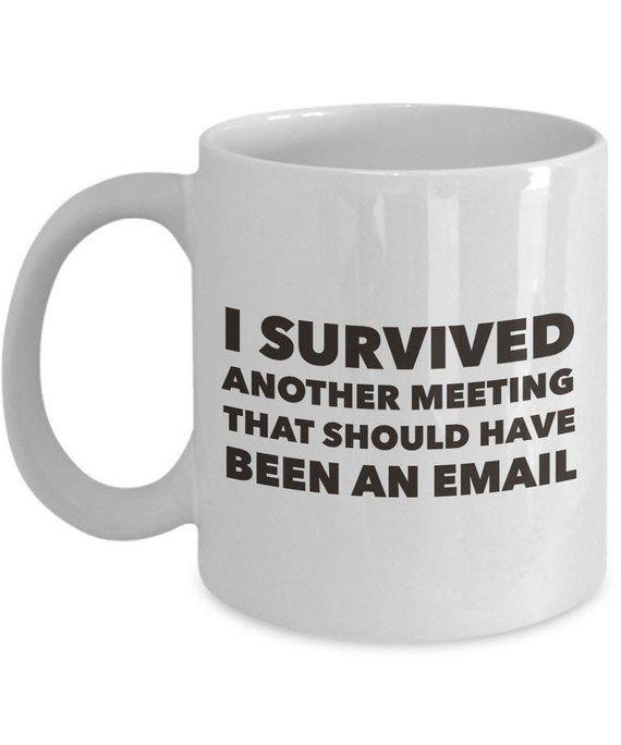 Funny Office Coffee Mug - Job Mug - Work Mugs For