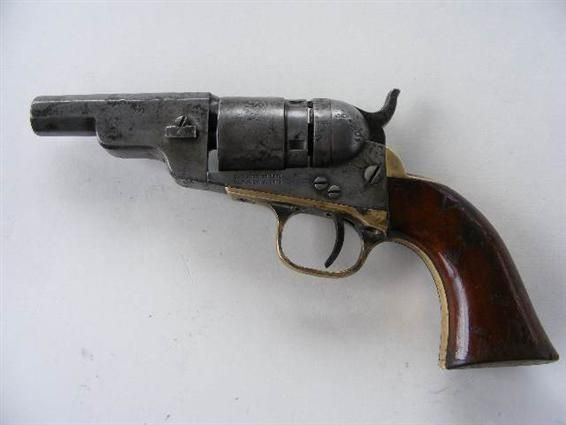colt model 1862 3 pocket navy conversion à canon octogonal guns
