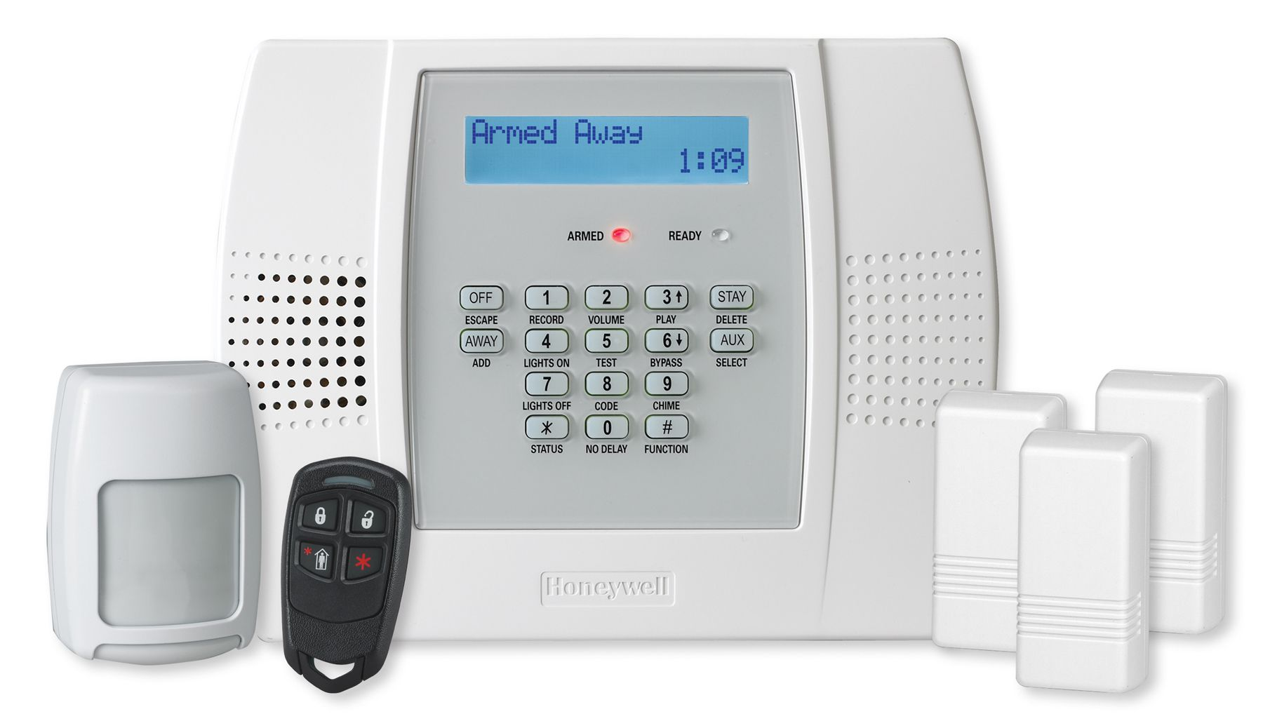 To Show The Honeywell Lynx L3000 Kits That Geoarm Security Offers Our Customer Alarm Systems For Home Home Security Alarm System Wireless Home Security Systems