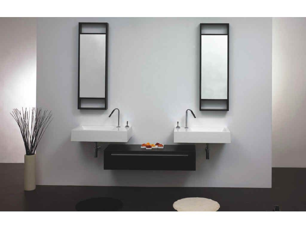 Double Sinks For Small Bathrooms Google Search Lake Front - Wall mount sinks small bathrooms for bathroom decor ideas
