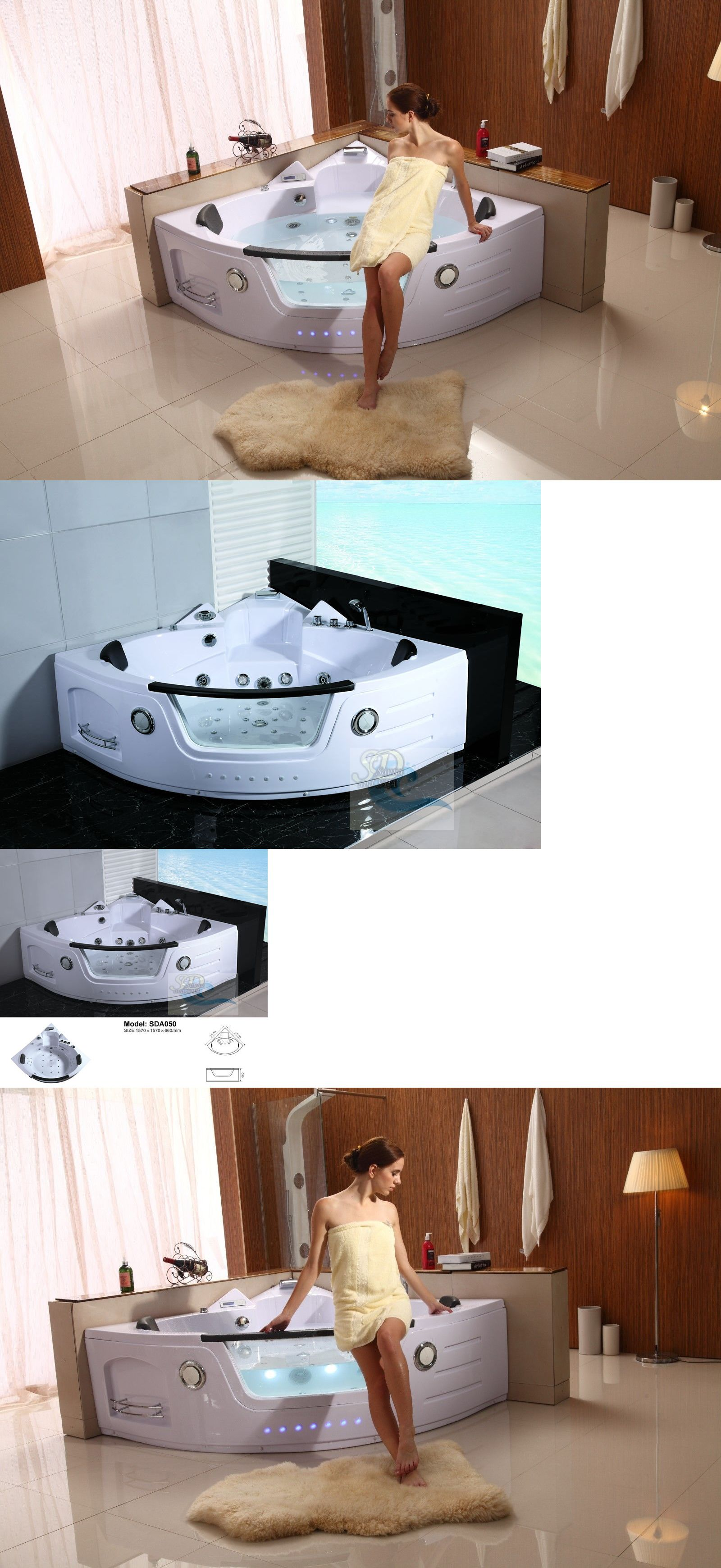 Jacuzzi Whirlpool Bathtubs 42025 New 2 Person Jacuzzi Whirlpool Massage