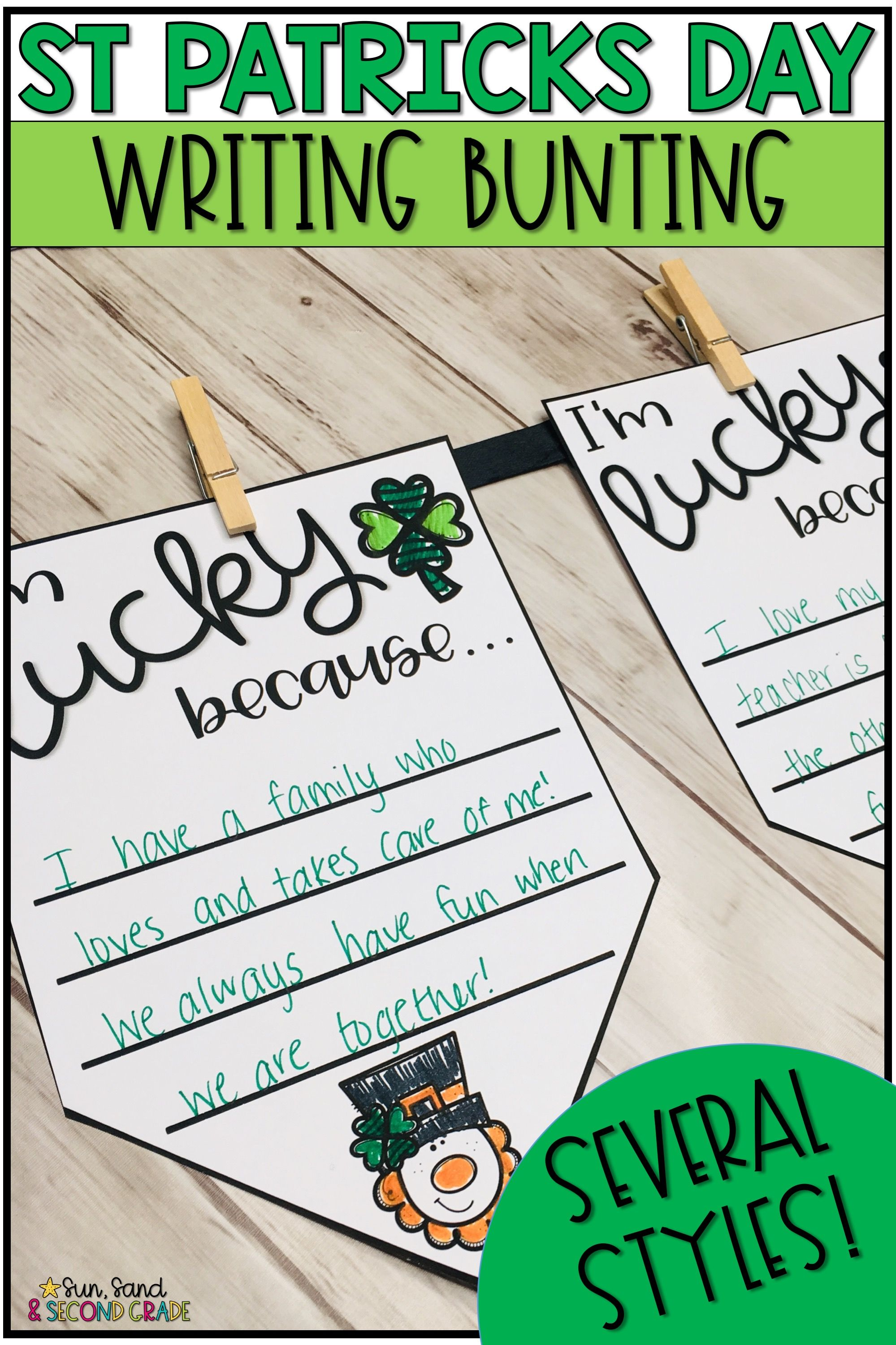 St Patrick S Day Bunting Banner