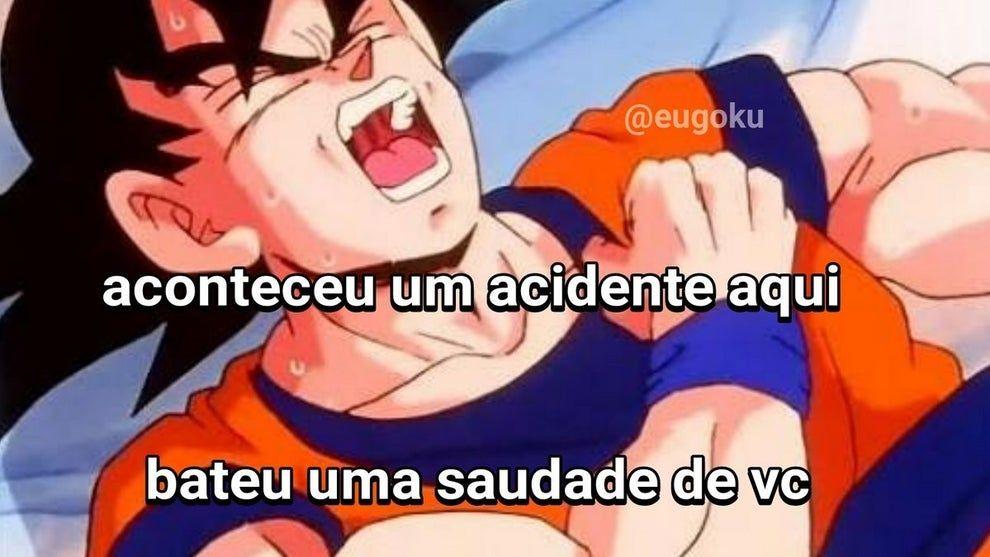 Como seria o mundo se o Goku fosse brasileiro e tivesse WhatsApp?