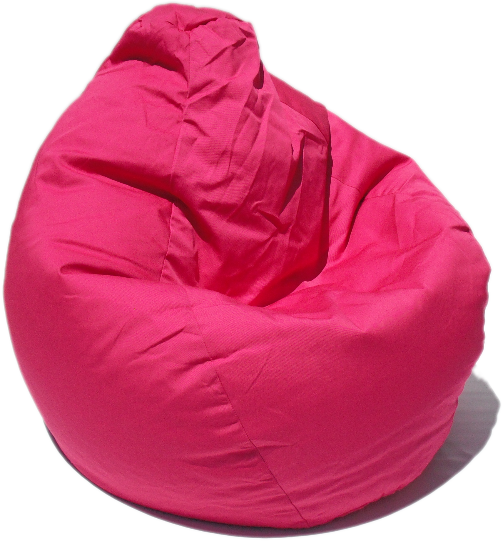 Poly Cotton Pink Bean Bag Chair