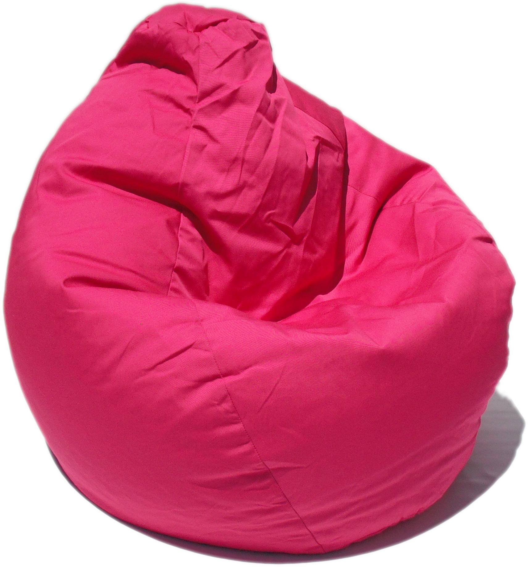 Poly Cotton Pink Bean Bag Chair Bean Bag Chair Bean Bag Chair