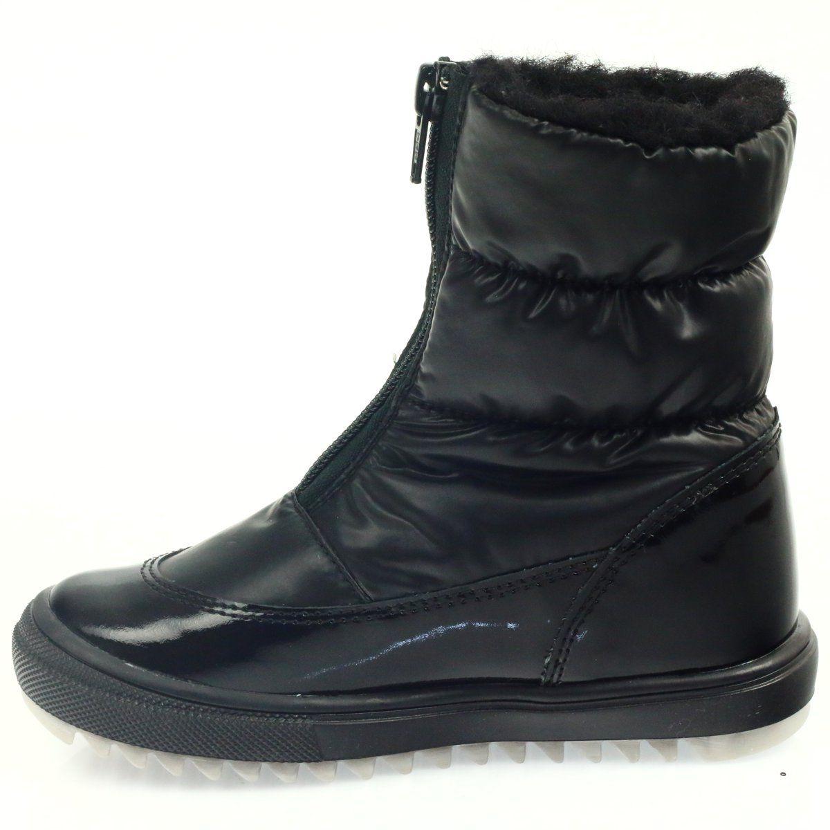 Kozaki Dla Dzieci Bartek Czarne Kozaczki Nieprzemakalne Bartek 44405 Boots Shoes Winter Boot