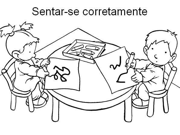 Famosos COMBINADOS DE TURMA, REGRAS PARA EDUCAÇÃO INFANTIL | Cantinho do  CC16