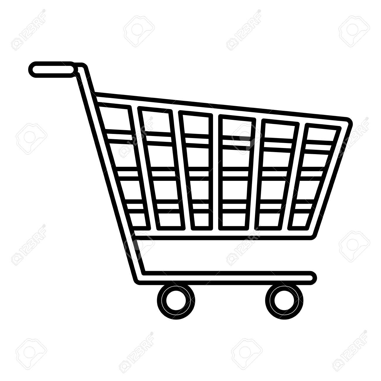 Shopping Cart Isolated Icon Vector Illustration Design Ad Isolated Cart Shopping Vector Illustration Design Illustration Design Vector Illustration