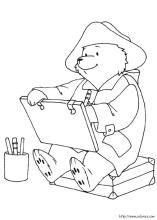 Paddington Bear Coloring Pages On Coloring Book Info Pinturas De Oso Oso Paddington Dibujos