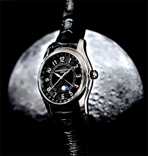 Frederique Constant Moon Timer watch