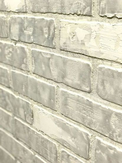 Create Faux Brick Wall Using Inexpensive Paneling Home
