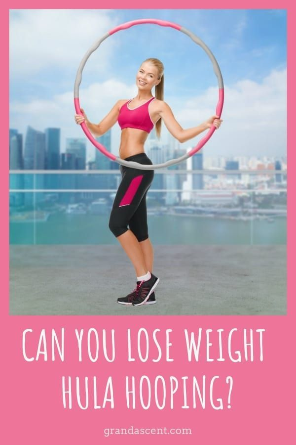 Can you lose weight hula hooping? If you're looking for a fun way to help you lose some of the extra...