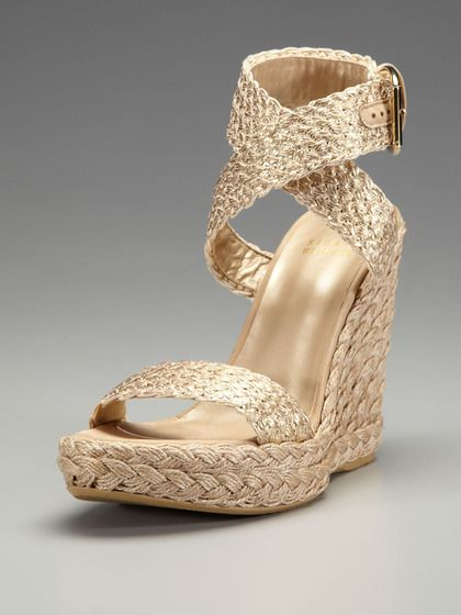 Stuart Weitzman Gilt Alex Platform Wedges clearance 2014 clearance 2014 newest buy cheap big discount XFWoy
