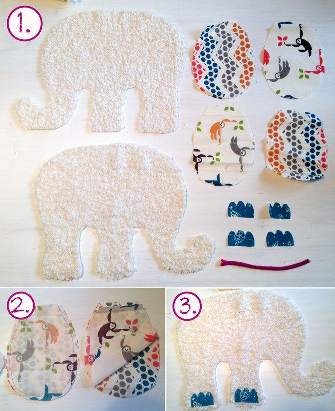 elefanten n hen schnittmuster baby n hen pinterest. Black Bedroom Furniture Sets. Home Design Ideas