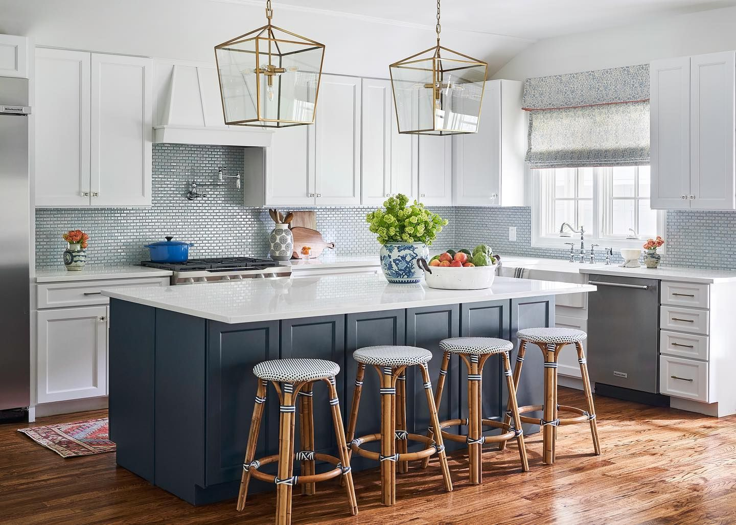 Riviera Backless Counter Stool In 2020 Counter Stools Backless Parisian Bistro Chairs Dark Blue Kitchens