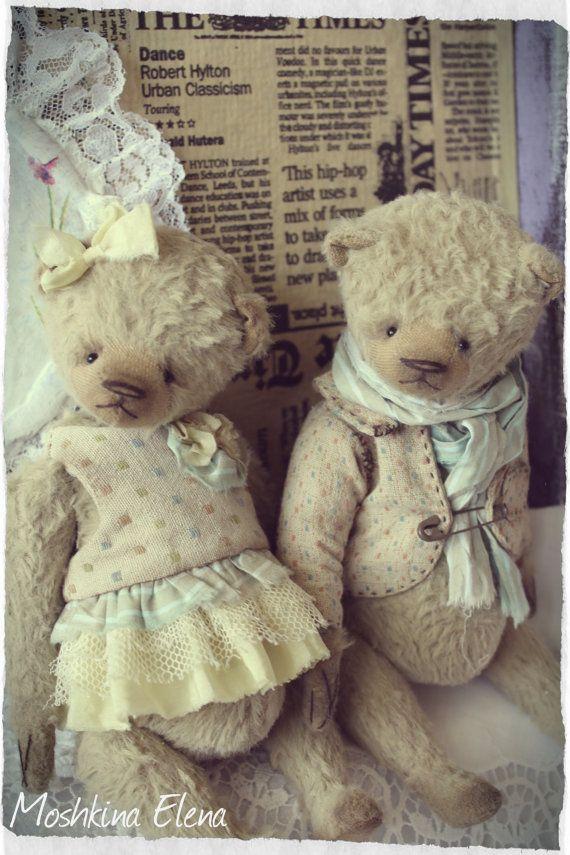 Pattern Teddy bears 18cm in PDF | Näh-muster, Fortschritt und Nase