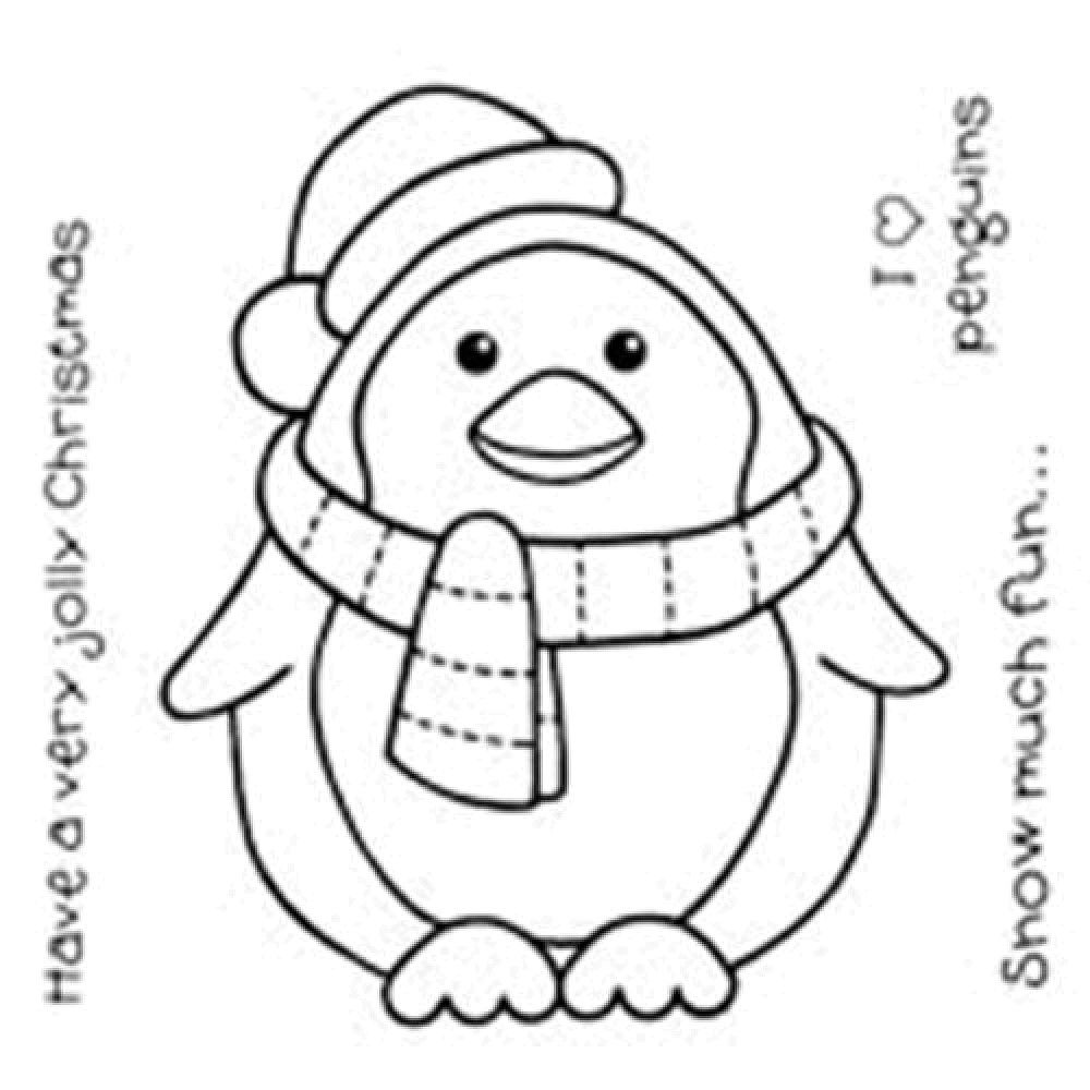 preschool penguins coloring pages - photo#20