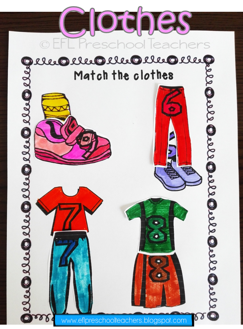 Esl Clothes Worksheet 3 Have The Students Practice Colors And Numbers Along With The Clothes Vocabulary Clothes Worksheet Teacher Tools Student [ 1061 x 783 Pixel ]