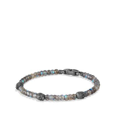 Spiritual Beads Skull Station Bracelet