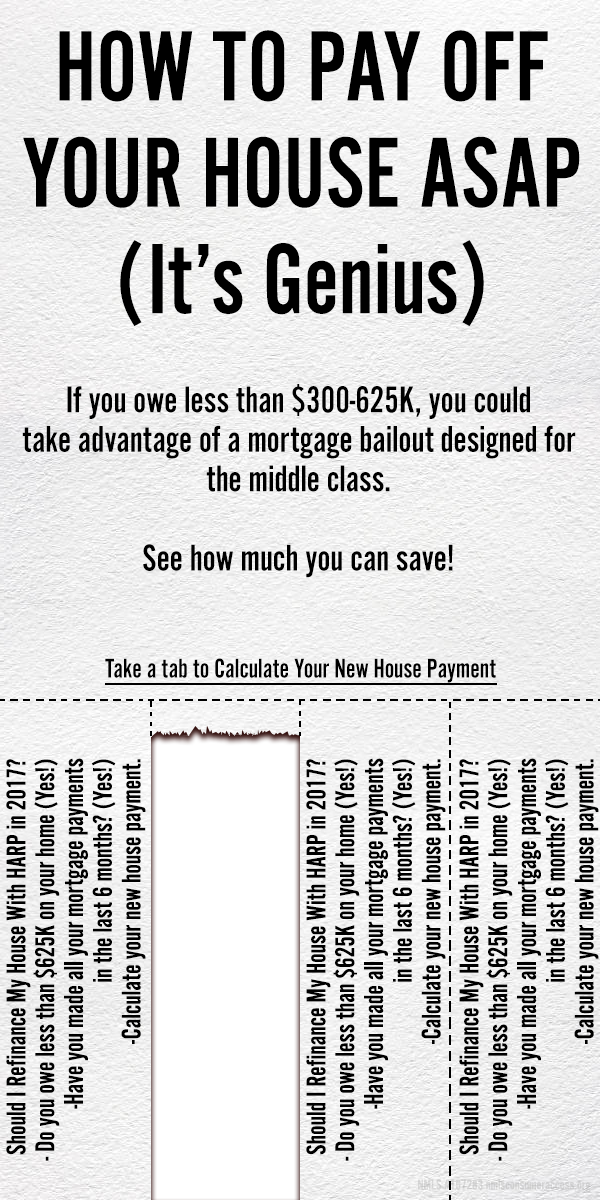 How To Pay Off Your House Asap ItS Genius  If You Owe Less