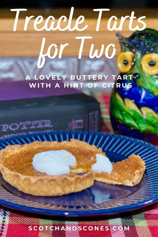 Treacle Tarts For Two A Delightful British Dessert Recipe British Desserts Tart Fresh Bread Crumbs