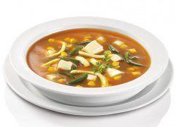 Sopa Mexicana de Elote y Rajas