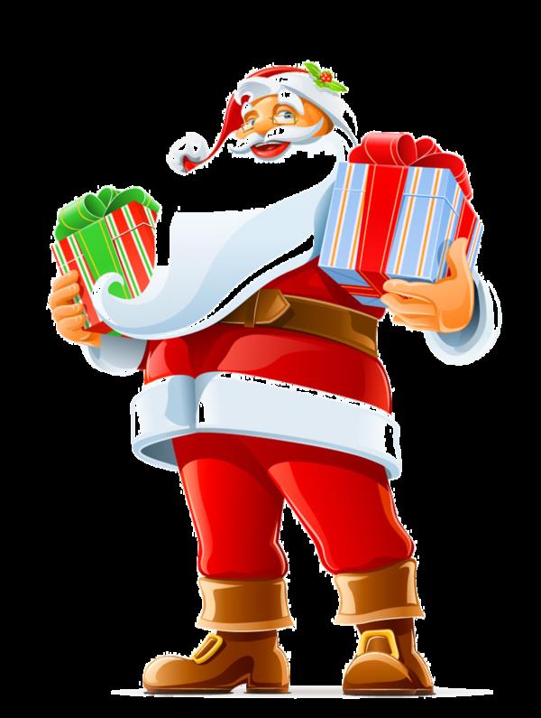 pere noel,santa, christmas Gift vector, Santa funny