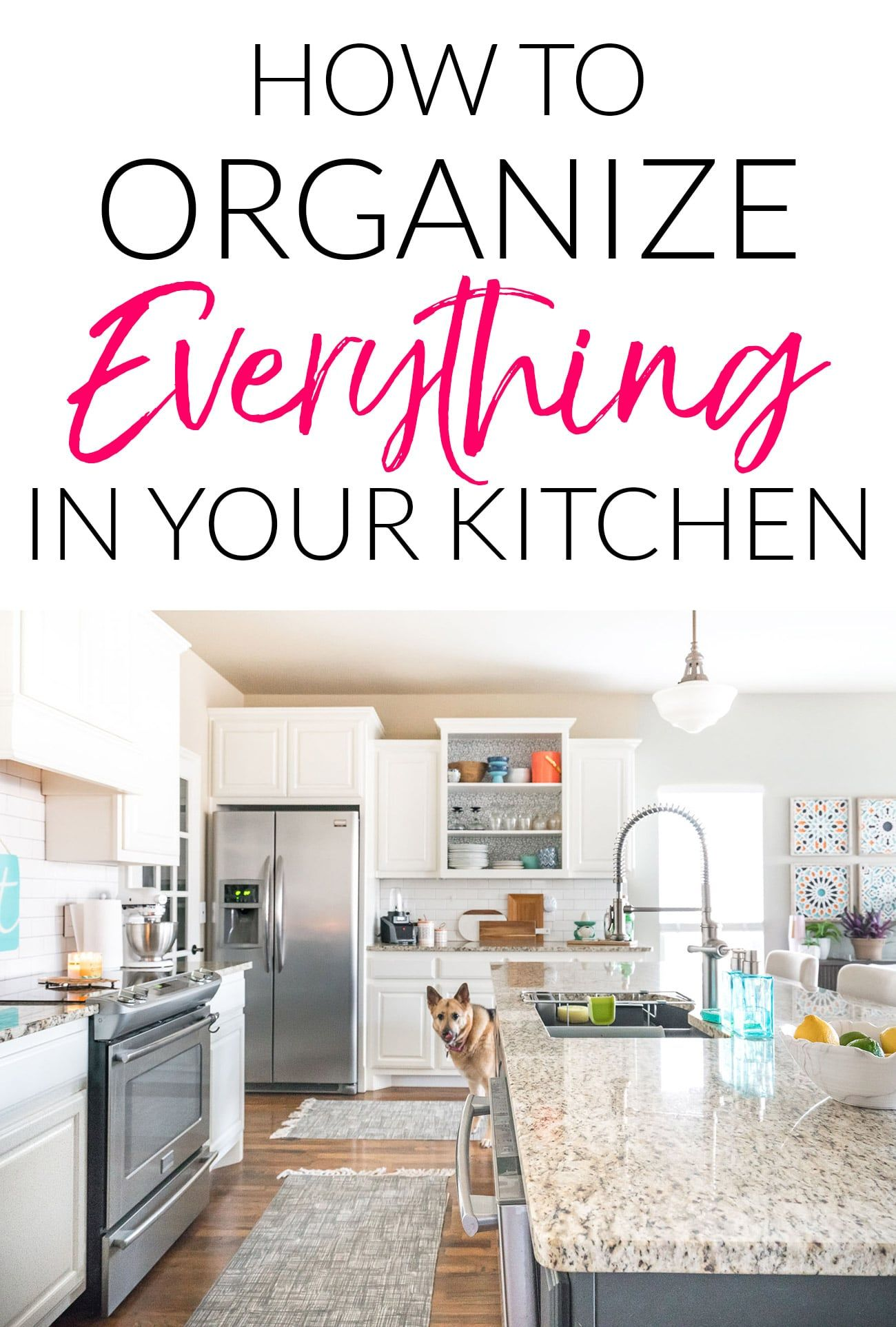 How to Organize Everything in Your Kitchen | Clutter, Organizations ...