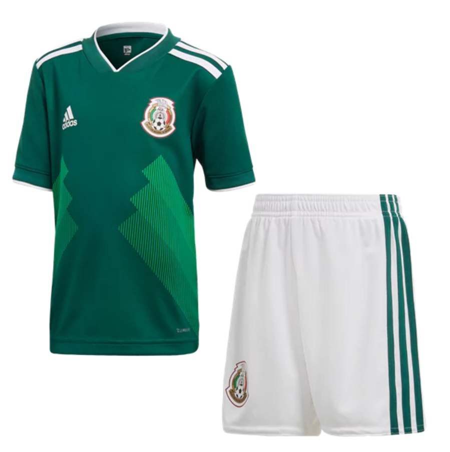 2563bb1e8 Mexico 2018 World Cup Home Kids(Youth) Kit Name and Number