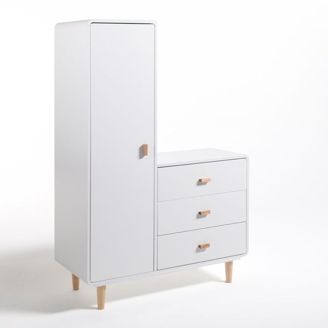 armoirette enfant jimi commode enfant petite armoire et combin. Black Bedroom Furniture Sets. Home Design Ideas