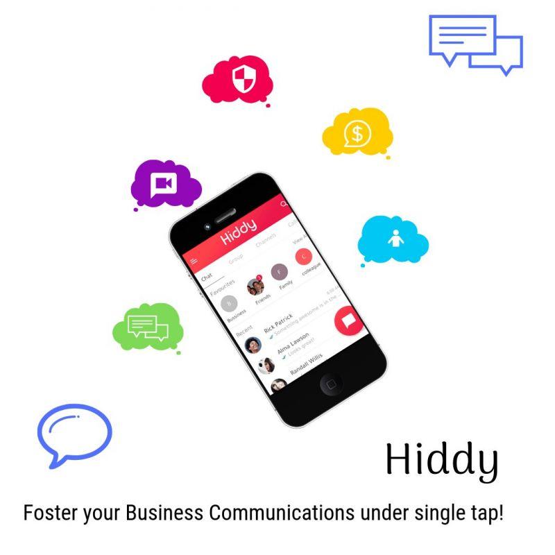 Hiddy Chat app script to build an app as same as Whatsapp