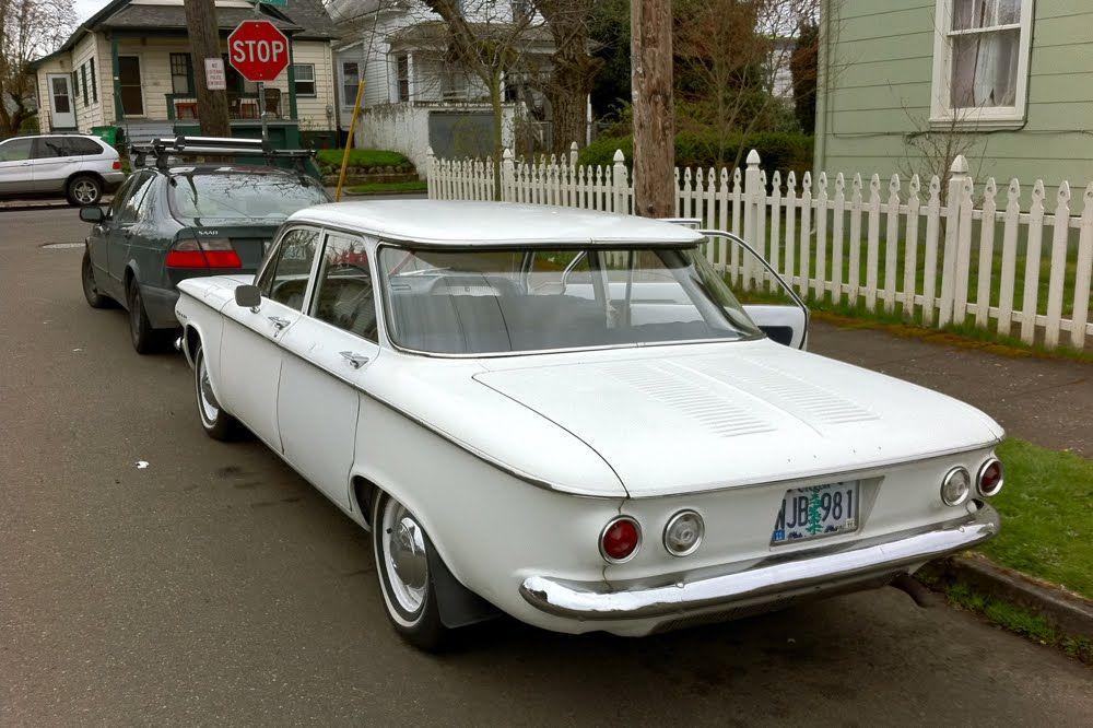 1960 Corvair 4 Door White