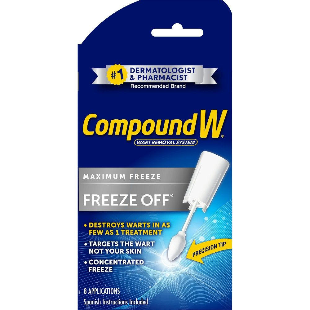 Compound W Freeze Off Wart Removal System 8ct Products Warts