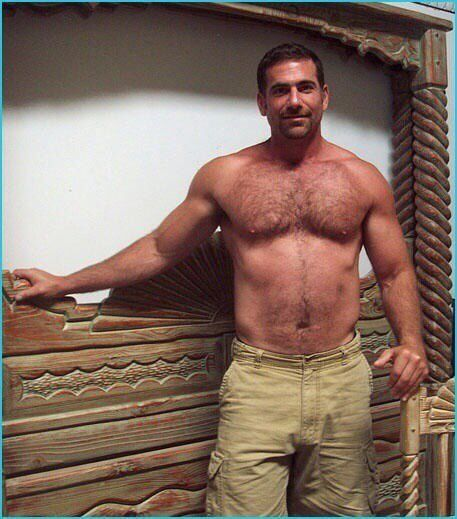 Hairy man mature