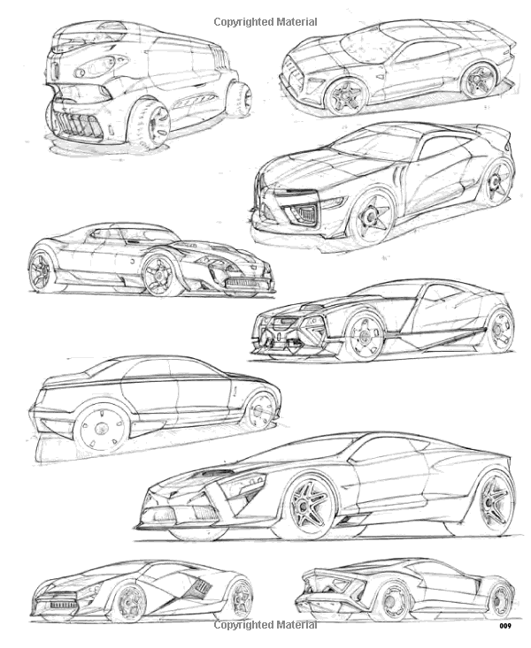 Architecture Drawing Cars how to draw: drawing and sketching objects and environments from