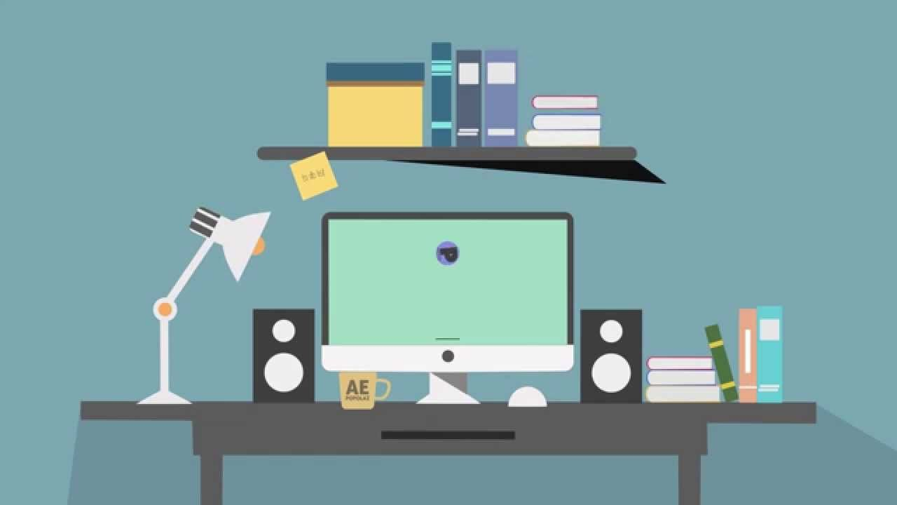 Motion Graphics After Effects 2d Clean Design I Will