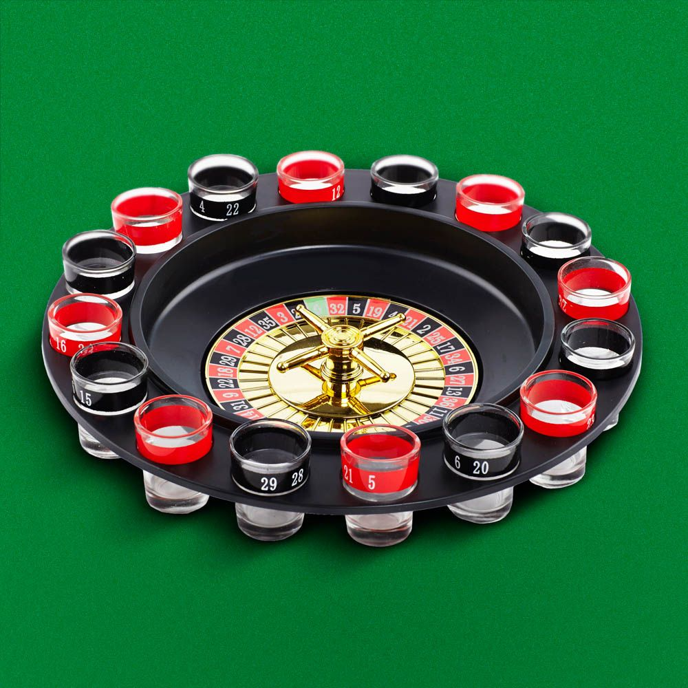 Shot Roulette RED5 Gadget Shop Gifts, Good birthday