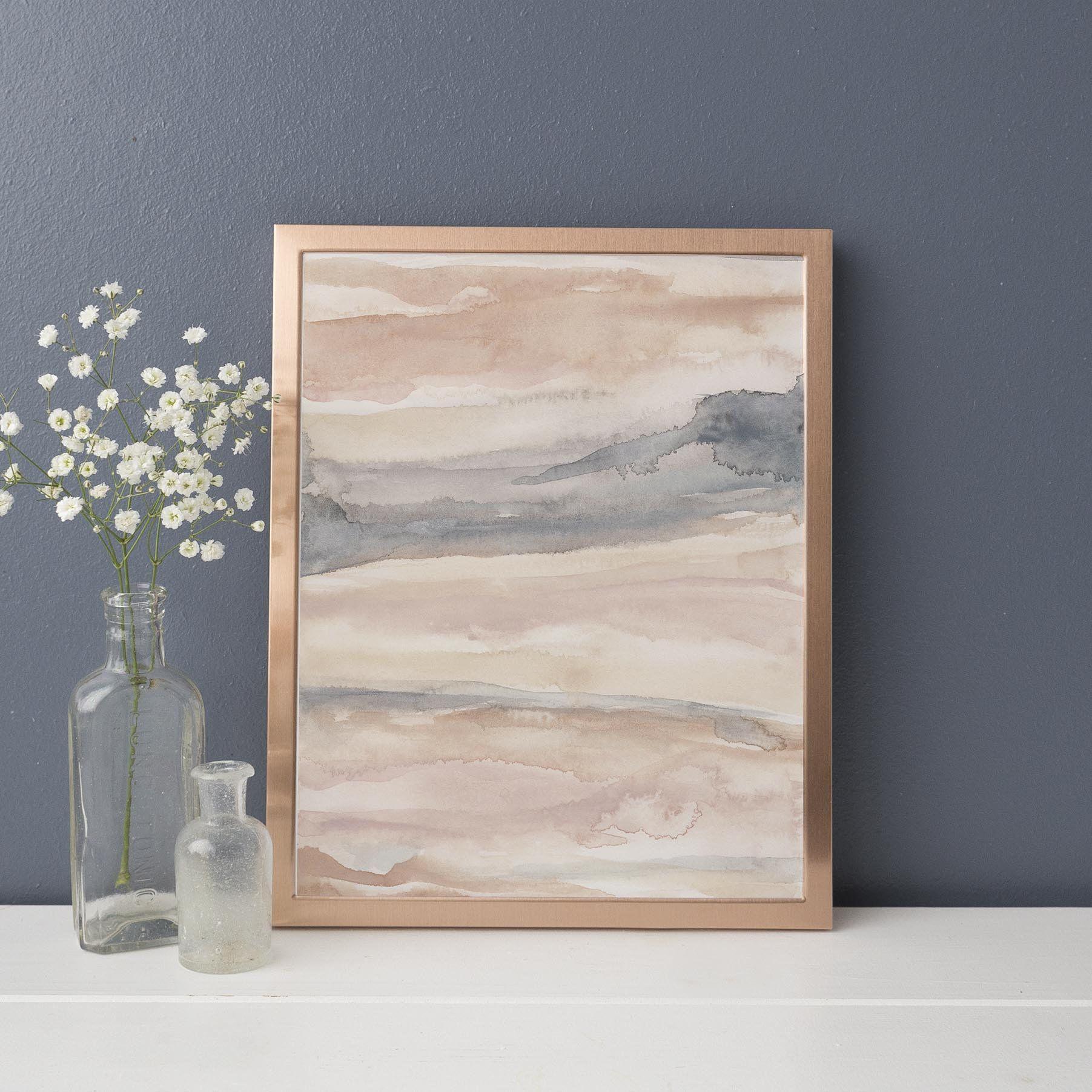 Blush Artwork Warm Abstract Minimal Neutral Peach Gray Etsy Wall Art Prints Neutral Wall Art Abstract