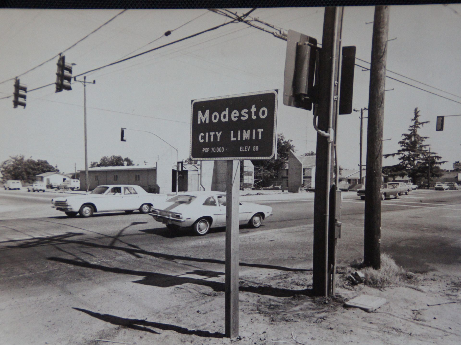 July 1973 When Mchenry And Standiford Were Undeveloped Modesto Modesto California Mchenry